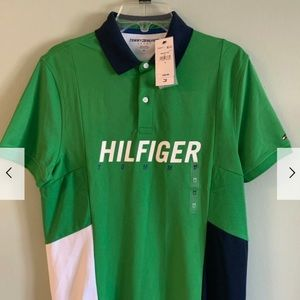 Tommy Polo T-shirt size M , new with tag Green